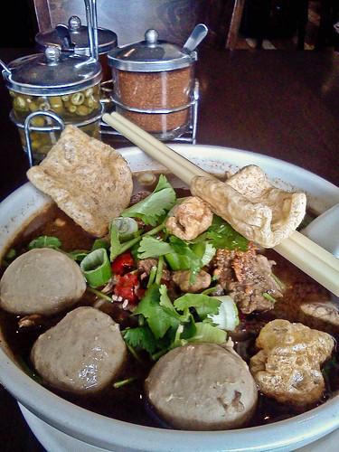 Thai Boat Market Beef Noodle Soup