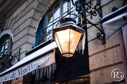 """""""Vendôme sous la glace"""". Paris, France."""