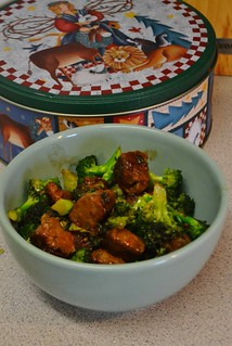 Broccoli and Soy Tips