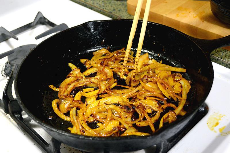 Carmelizing Onions