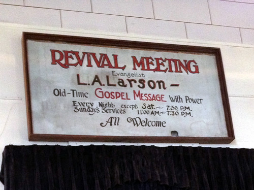 Revival meeting