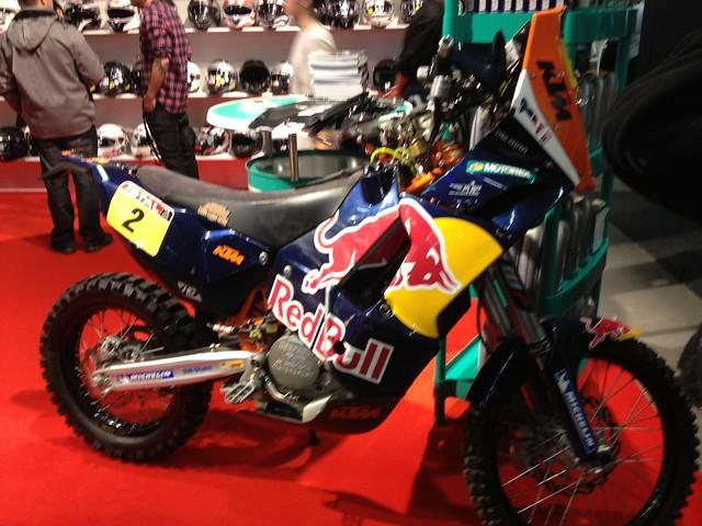 KTM Dakar bike?
