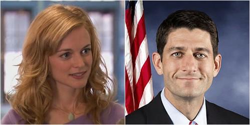 Heather Graham and Paul Ryan