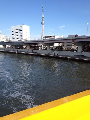 蔵前橋から見る東京スカイツリー by haruhiko_iyota