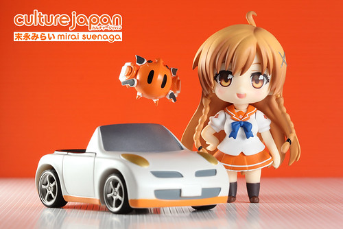 Culture Japan's Mirai Suenega (末永みらい) - the Nendoroid (ねんどろいど ) version