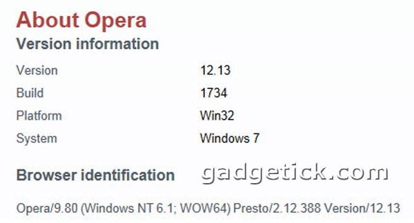 Opera 12.13 Final скачать