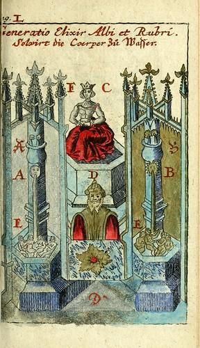 026-Joh. Michaelis Faustij ... Compendium alchymist….1706-Johann Michael Faust
