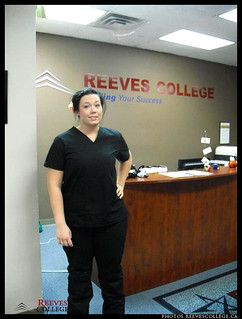 2011 Amanda Visser in halloween costume Reeves College Lloydminster Campus
