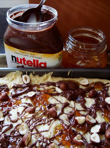 Seville Orange Marmalade Nutella Kuchen: Ready For Oven