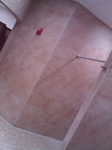 Commercial porcelain tile