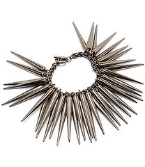 Your Fashion Jewellery - Black Spike Bracelet