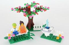 40052 Springtime scene