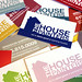 The House Painters business cards