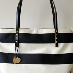 Striped Tote Redux