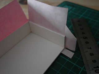 All the various cuts to make the paper wrap around