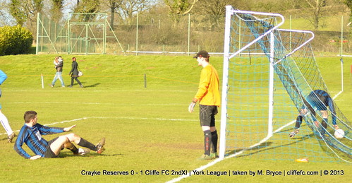 Cliffe FC 2ndXI 1 - 0 Crayke Reserves 9Feb13