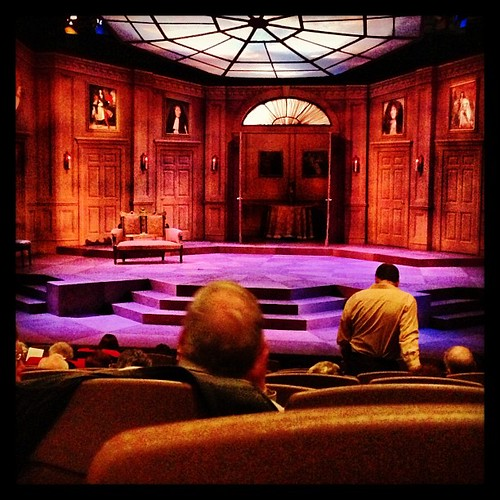 #fmsphotoaday February 10 - 3 o'clock #intermission #Tartuffe