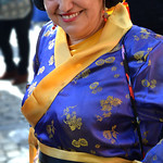 Disfraz de mujer asiática