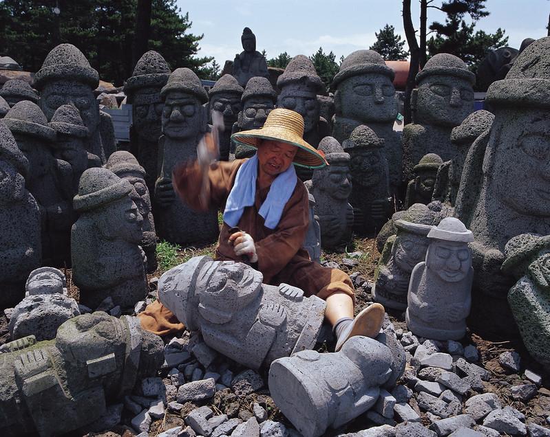 Jeju Estatuas