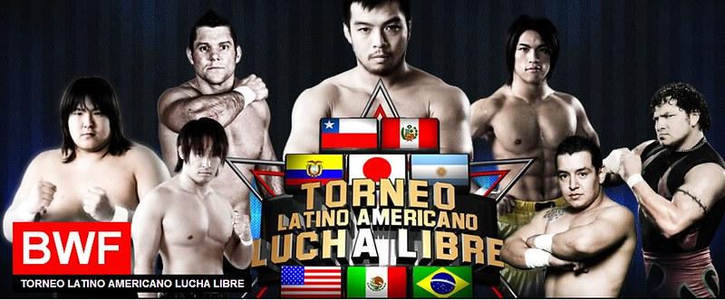 BWF - Torneo Latinoamericano de Lucha Libre - Round 1