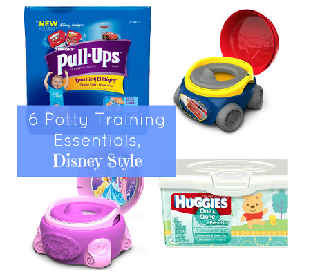 Potty Training Essentials with Disney Characters