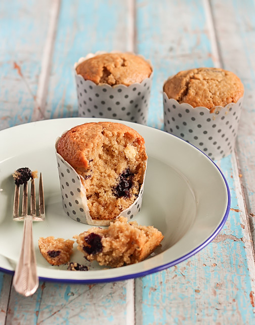Blueberry, White Chocolate & Lime Muffins | www.raspberricup ...