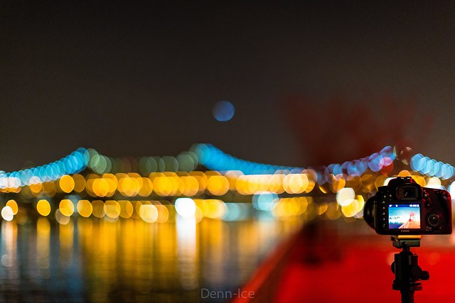 Queens Bridge Bokeh