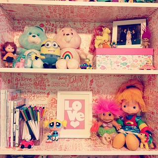 Day48 decorating my office with toys!!!! 2.17.13 #jessie365