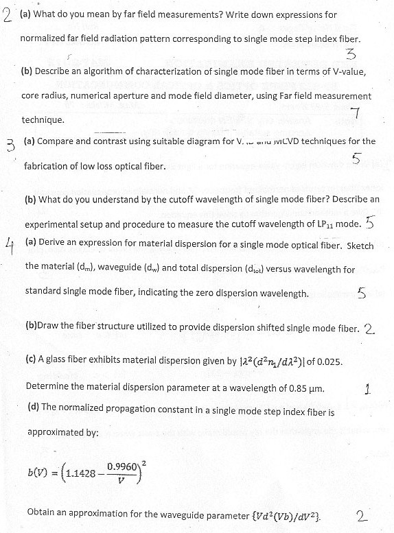 DTU: Question Papers 2012 - 6 Semester - End Sem - EP-312