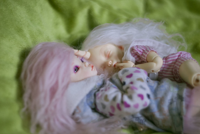 A Doll a day - Friday - cuddled up