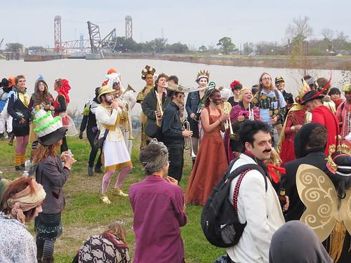 music sunrise louisiana neworleans parade mississippiriver