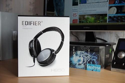 Edifier H850 Hi Fi   uždaro tipo ausinės