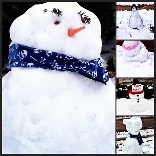 """Snowmen"" by Abigail Harenberg"