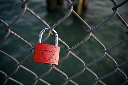 Fisherman's Wharf - love lock