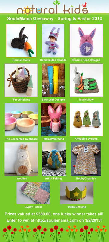 natural kids spring giveaway