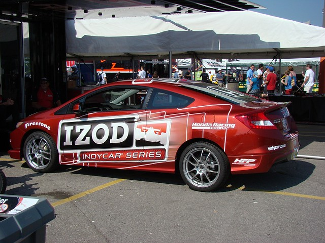 2011 Honda Indy of Toronto Friday 2012 honda civic pace car