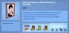 Idols and Anchors Wall Painting by Gal Pals