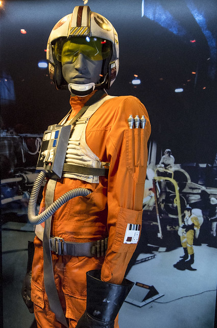 Luke's Flight Suit