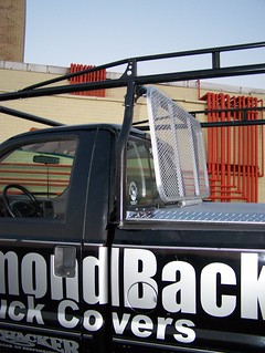 Ladder Rack Cab Guard Under Kargo Master Pro-II