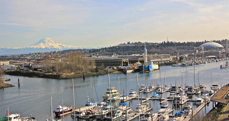 Sunny Day in Tacoma