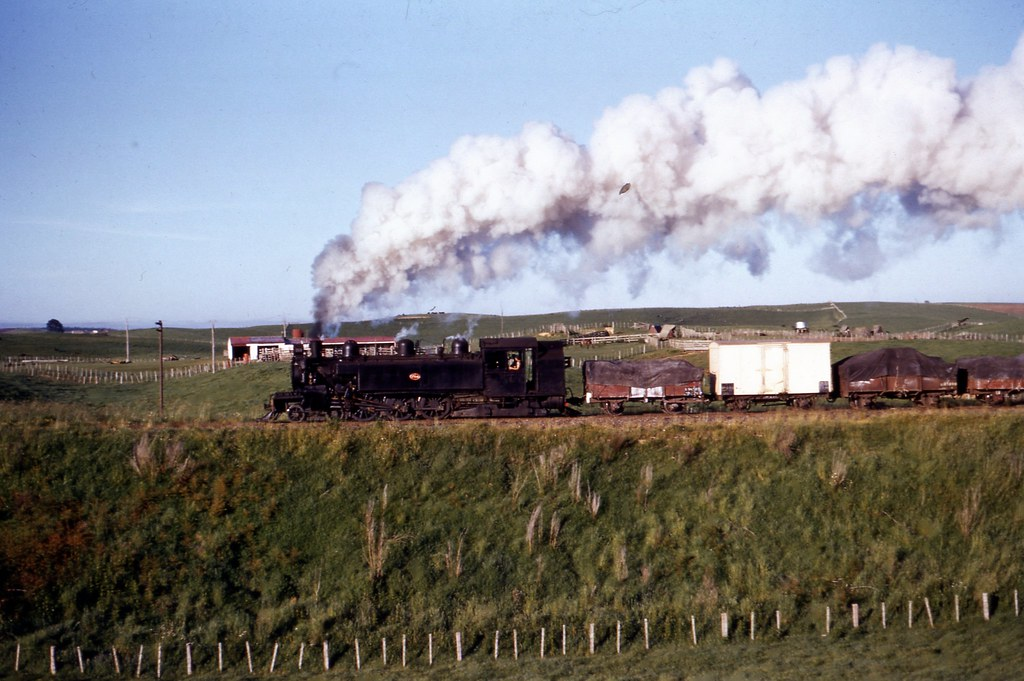 NZR 1958-11-29 Wab764 on 291 between Putararu-Liihfield  3