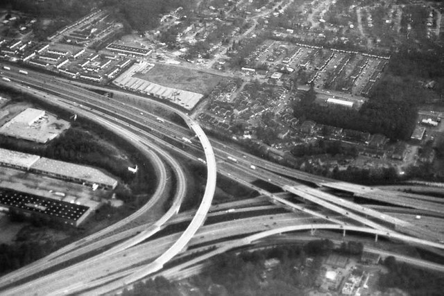 Highway at Atlanta Airport, 1994