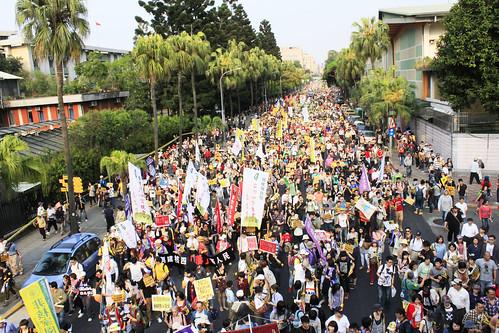 今年309反核遊行,民眾上街表達反核立場。
