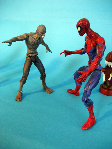 Vermin vs. Spider-man