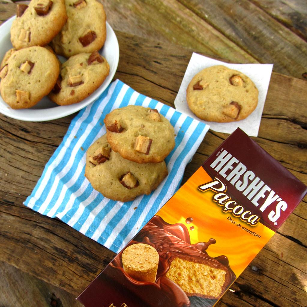 Cookies de hershey's paçoca