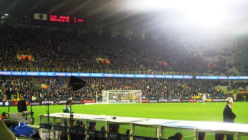 Club Brugge 2-2 NUFC - Jan Breydel Stadion