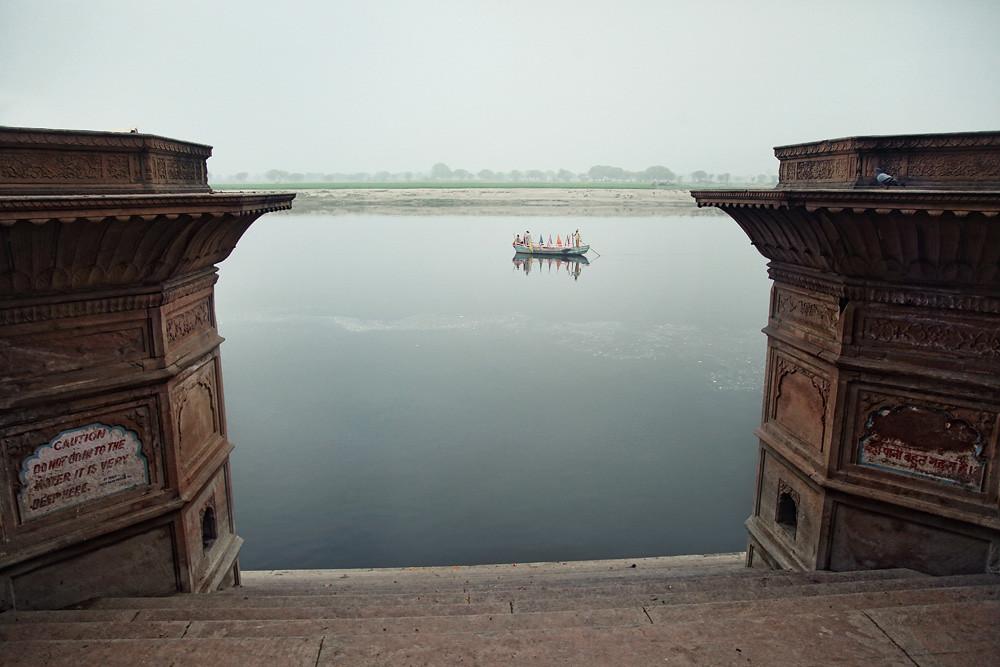 Jamna river, Vrindavan, India 2012
