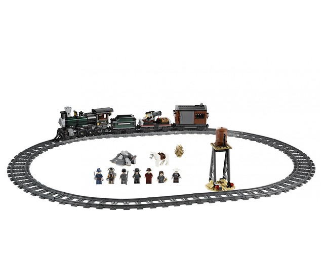 LEGO The Lone Ranger 79111 - Constitution Train Chase