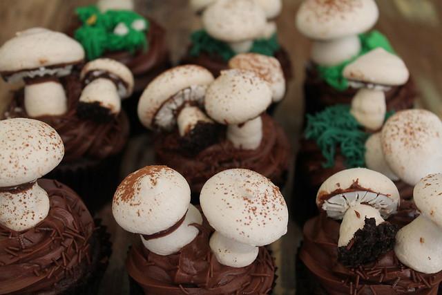 Meringue Mushrooms | Flickr - Photo Sharing!
