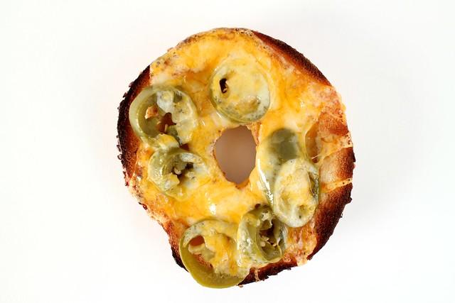 on toast: bagel